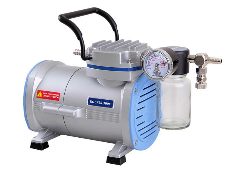 Rocker 300C PTFE Coated Chemical Resistant Vacuum Pump