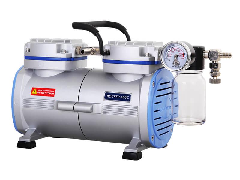 Rocker 400C PTFE Coated Chemical Resistant Vacuum Pump