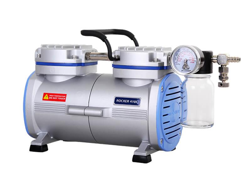 Rocker 410C PTFE Coated Chemical Resistant Vacuum Pump